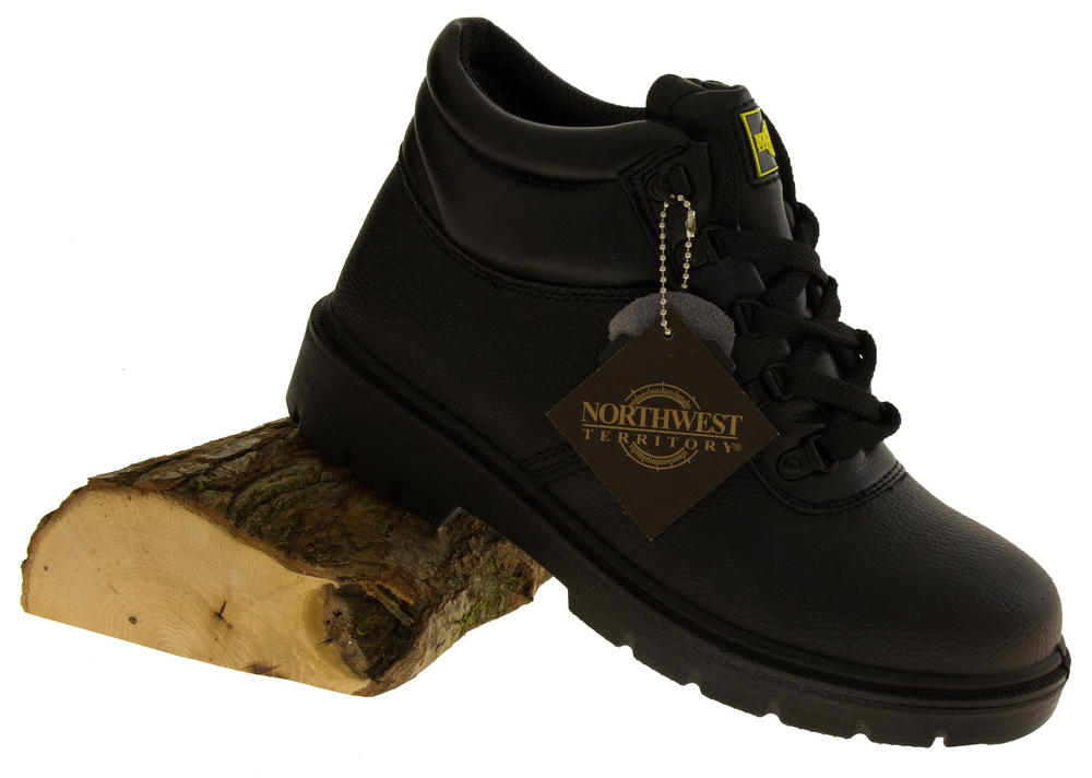Mens NORTHWEST TERRITORY ALBERTA Leather Safety Boots | Womens, Mens, Kids  Shoes | Heels, Trainers & Boots | Footwear Studio