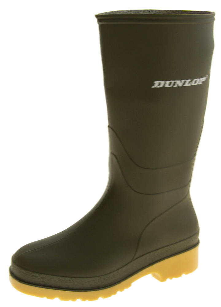 Womens Girls DUNLOP Wellington Boots