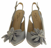 Womens Mid High Slingback Sandals Thumbnail 5