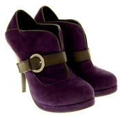 Ladies High Heel Ankle Shoe Boots Thumbnail 10
