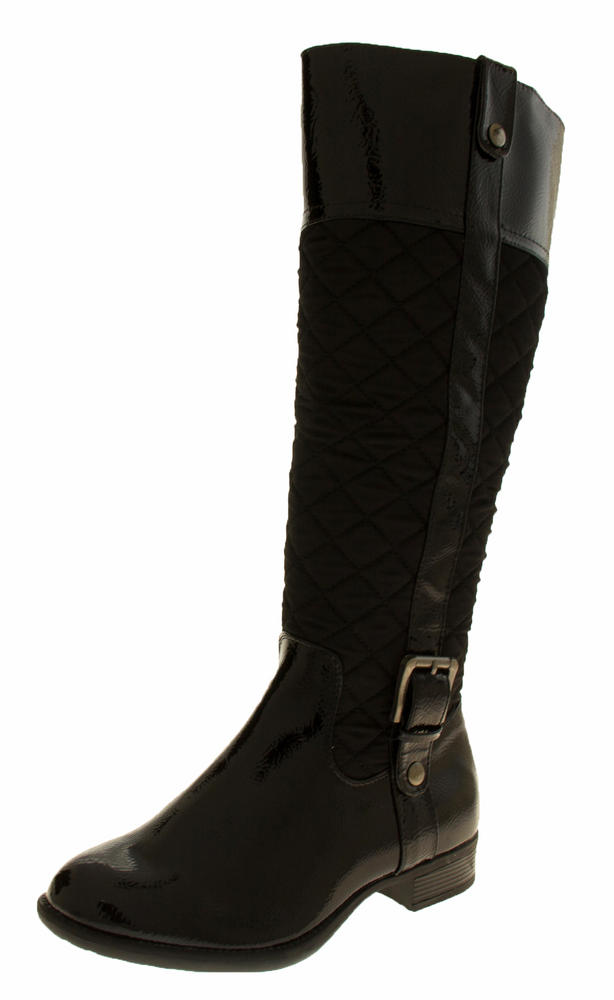 Womens MANFIELD Fur Lined Knee High Boots