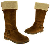 Womens COCONEL Faux Leather Tall Boots Thumbnail 11