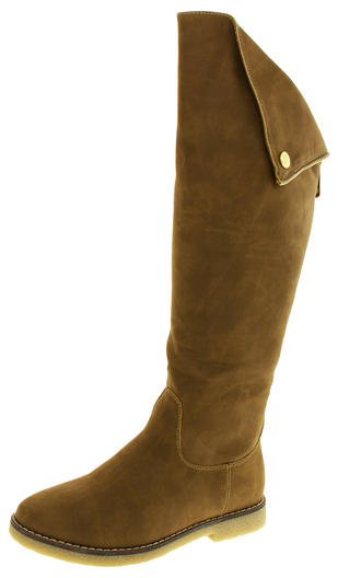 Womens KEDDO Real Wool Lined Tall Knee High Boots