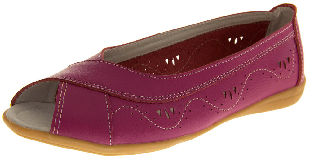 Womens COOLERS PREMIER Leather Summer Shoes