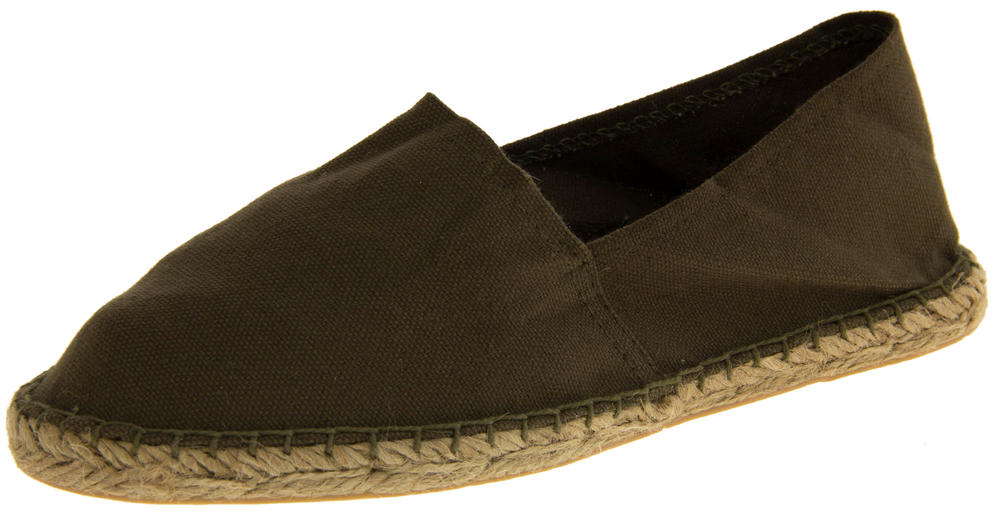 Ladies Espadrille Canvas Casual Pumps