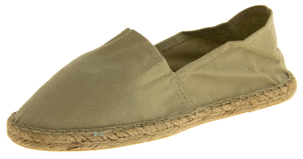 5cd57bf79bc Ladies Espadrille Canvas Casual Pumps Thumbnail 12. Unbranded. 19217787