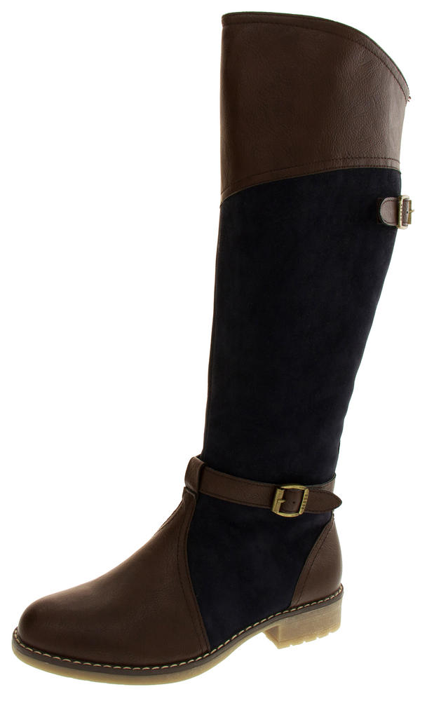Womens KEDDO Two-toned Riding Boots