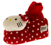 Baby/Infant Girls HELLO KITTY Polkadot Bootee Slippers
