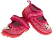 Girls HELLO KITTY Mary Jane Shoe Slippers Thumbnail 7