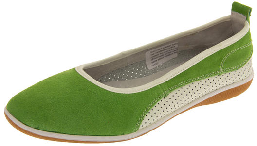 Womens Suede Leather COOLERS Shoes Ladies Flat Ballerina Pumps Sz Size 4 5 6 7 8