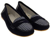 Womens Suede Leather Loafers Shoes Ladies COOLERS Slip On Flats Size 4 5 6 7 8 Thumbnail 11