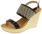 Womens DOLCIS High Heel Wedge Sandals Thumbnail 1