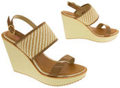 Womens DOLCIS High Heel Wedge Sandals Thumbnail 11