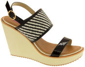 Womens DOLCIS High Heel Wedge Sandals Thumbnail 2