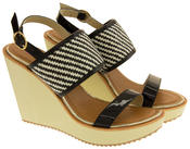 Womens DOLCIS High Heel Wedge Sandals Thumbnail 4