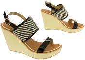 Womens DOLCIS High Heel Wedge Sandals Thumbnail 5
