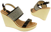 Womens DOLCIS High Heel Wedge Sandals Thumbnail 6