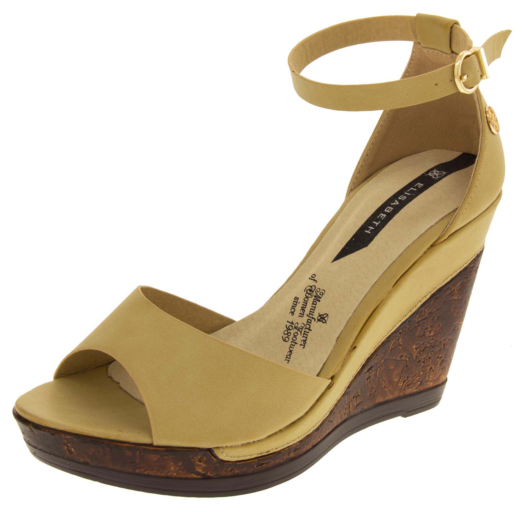017b9144901 Womens Wedge Platform Strappy High Heel Sandals
