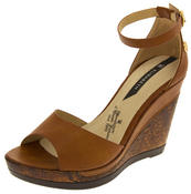 Womens Wedge Platform Strappy High Heel Sandals Thumbnail 4
