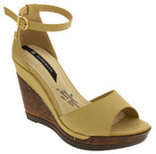 Womens Wedge Platform Strappy High Heel Sandals Thumbnail 2