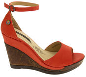 Womens Wedge Platform Strappy High Heel Sandals Thumbnail 9