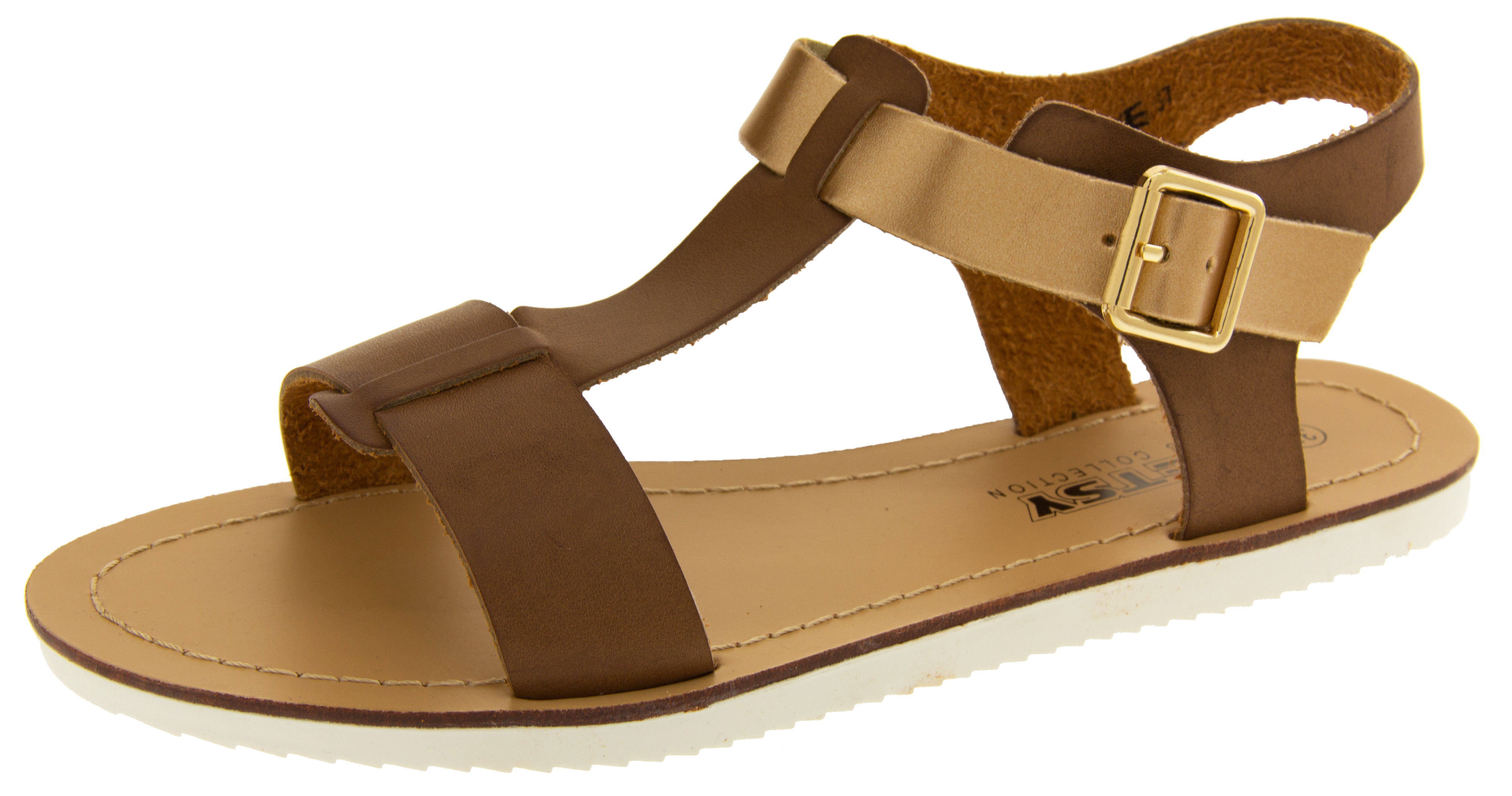 Womens BETSY Gladiator Sandals Flat Strappy Summer Shoes  eddadd3745