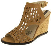 Womens Wedge Sandals Ladies High Heels Cut Out Summer Shoes