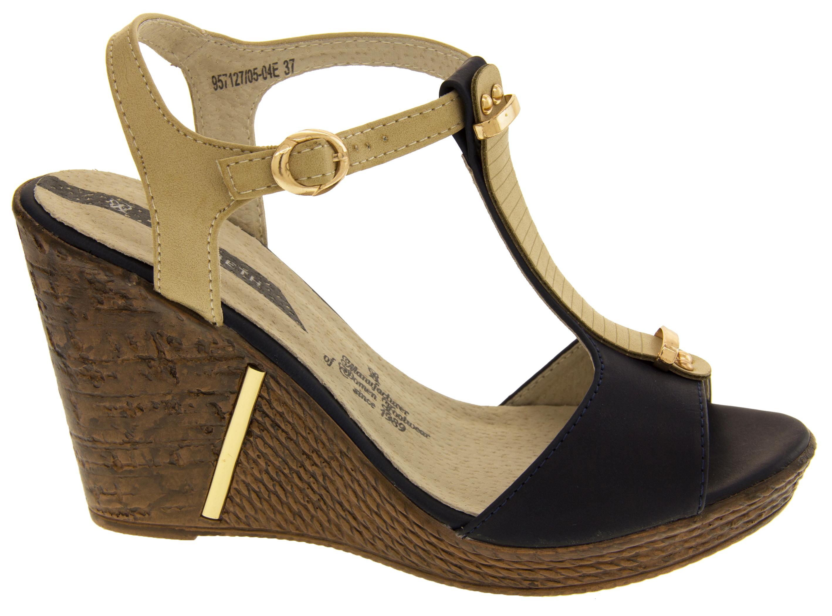 Ladies Women Platform Peep Toe Ankle Strap High Heel Shoes Sandals Size 4 5 6 7