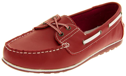 Womens Leather Shoreside Deck Shoes Thumbnail 9