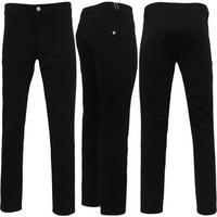 Voi Bi-Stretch Black Trouser 'TRS023'