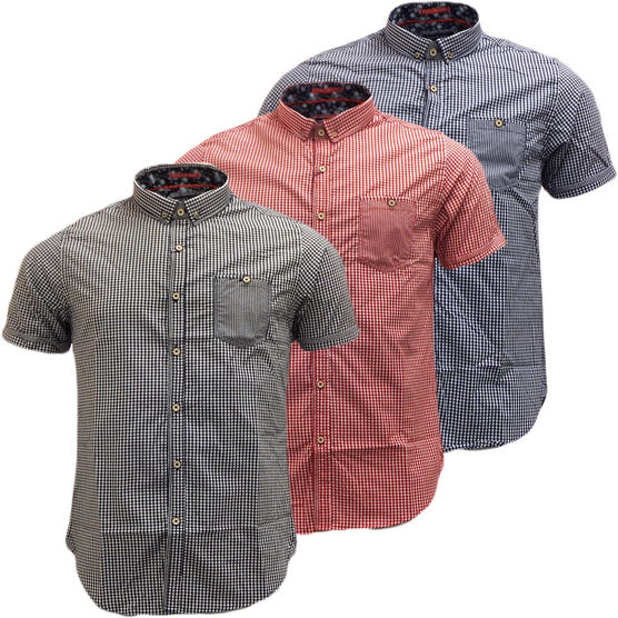 Brave Soul Short Sleeve Shirt 'Clement' Thumbnail 1