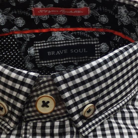 Brave Soul Short Sleeve Shirt 'Clement' Thumbnail 4