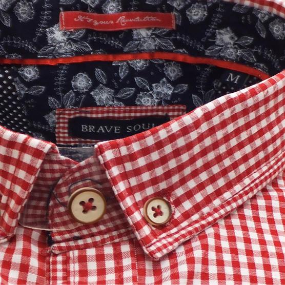 Brave Soul Short Sleeve Shirt 'Clement' Thumbnail 8