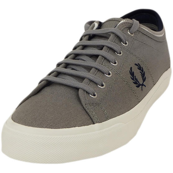 Fred Perry Trainer Canvas Footwear Grey Thumbnail 2