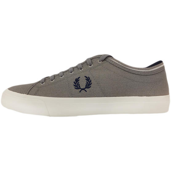 Fred Perry Trainer Canvas Footwear Grey Thumbnail 3