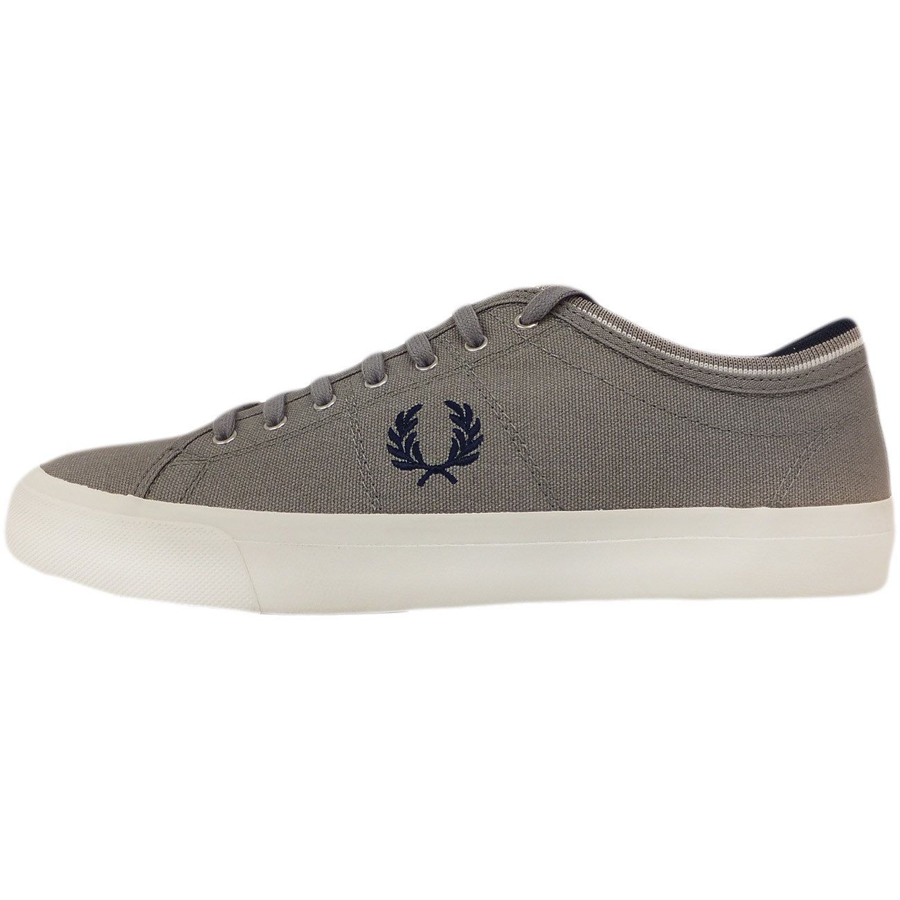 Fred Perry Trainer Canvas Footwear Grey