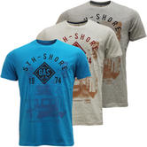 Mens T Shirts South Shore T-Shirt '1974 Gas' New M L XL XXL