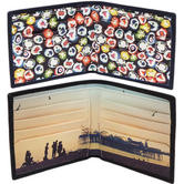 Ben Sherman Wallet New - Boiled Sweet or Beach Design