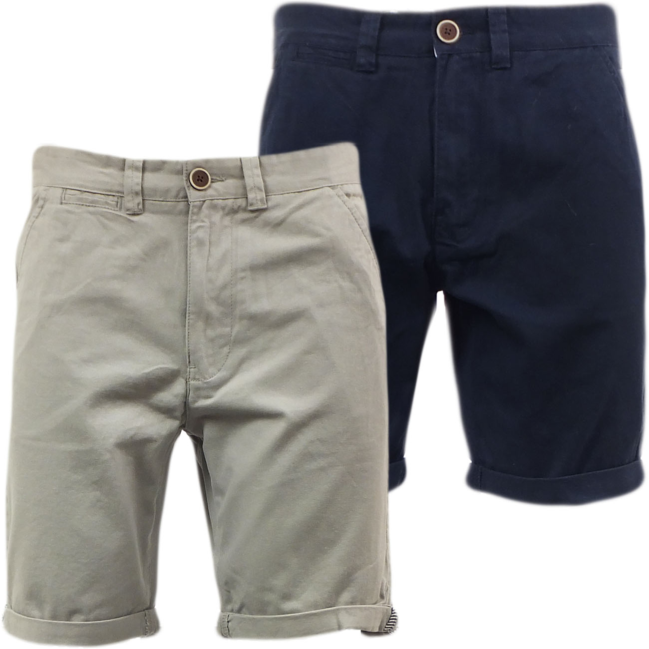 Brave Soul Plain Chino Short 'Campbell'