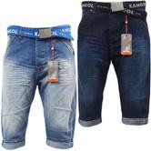 Kangol Denim Short / Free Belt