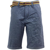 Tokyo Laundry Thin Stripe Chino Short with Free Belt
