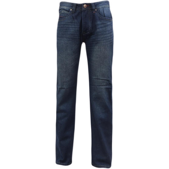 D555 Mens Straight Jean Relaxed Fit Denim Trouser Pant 'Rinaldo' Vintage Indigo Thumbnail 2