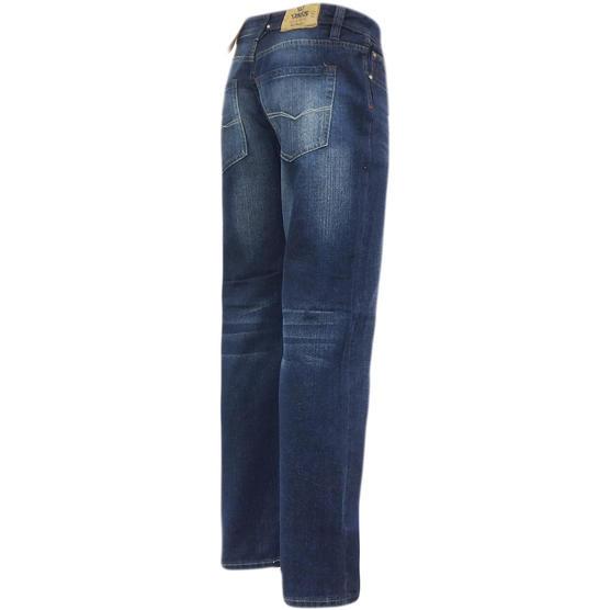 D555 Mens Straight Jean Relaxed Fit Denim Trouser Pant 'Rinaldo' Vintage Indigo Thumbnail 3