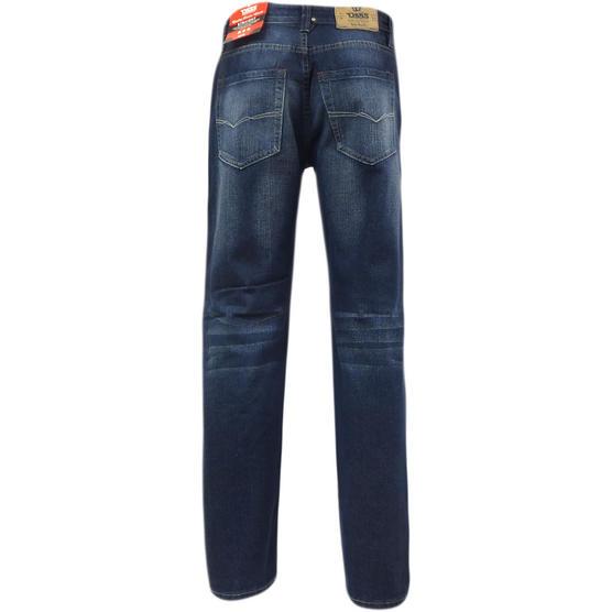 D555 Mens Straight Jean Relaxed Fit Denim Trouser Pant 'Rinaldo' Vintage Indigo Thumbnail 4