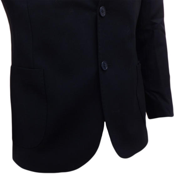 Bewley Ritch Suit Jacket Blazer Coat Smart Navy with Pocket Square Thumbnail 5