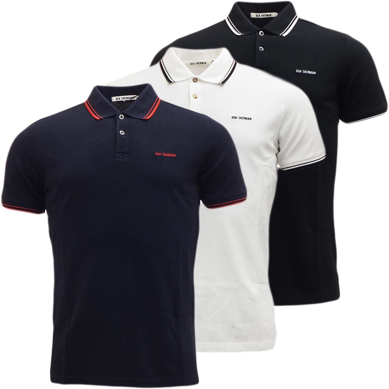 57231f20 Sentinel Ben Sherman Plain Polo Shirt Mens Polos / Short Sleeve Shirts /  Designer Top