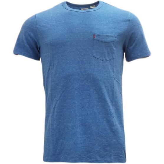 Levi strauss plain t shirt with pocket t shirts mr h for Levis plain t shirts