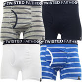 Twisted Faith Underwear Boxer Pants Pack of 2