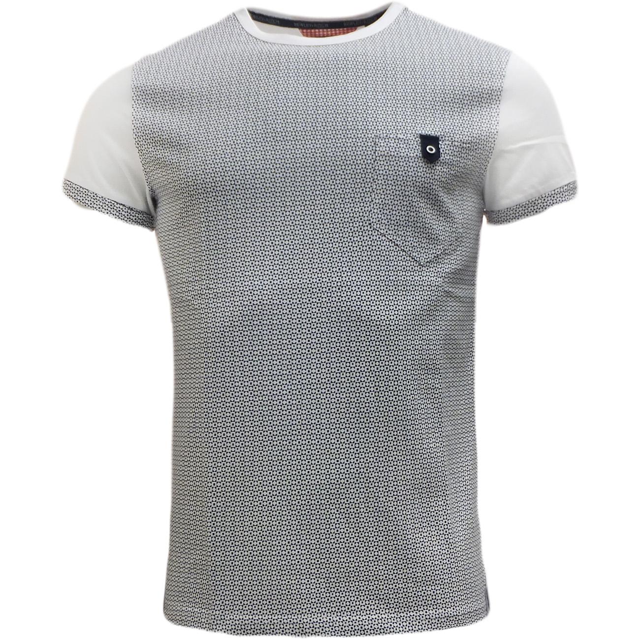 Bewley Ritch Mens T-Shirt - Pattern Pocket T Shirts 'Faxton'