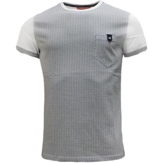 Bewley Ritch Mens T-Shirt - Pattern Pocket T Shirts 'Faxton' Thumbnail 1